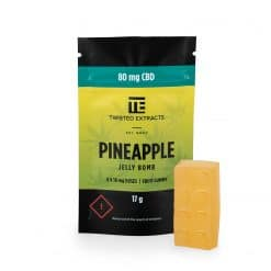 Twisted-extracts-pineapple-ganjawest-Twisted Extracts - CBD Pineapple Jelly Bombs