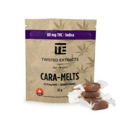twisted extracts caramelts indica