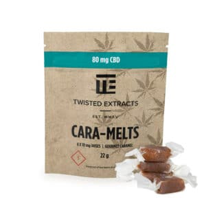 twisted extracts caramelts cbd