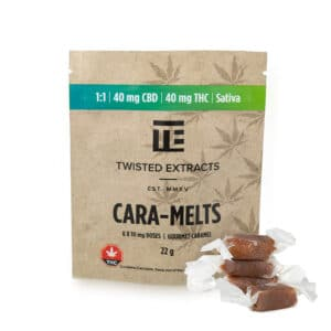 twisted extracts caramelts twisted extracts caramelts sativa 1 to 1