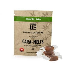 twisted extracts caramelts sativa