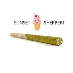 buy caviar joints sunset sherbet